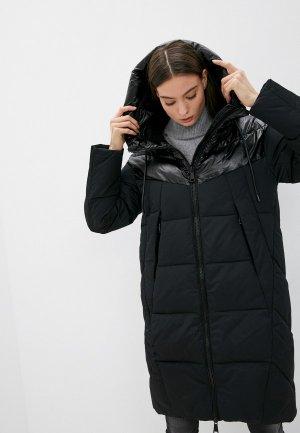 Куртка утепленная Снежная Королева VVW2DC048. Цвет: черный