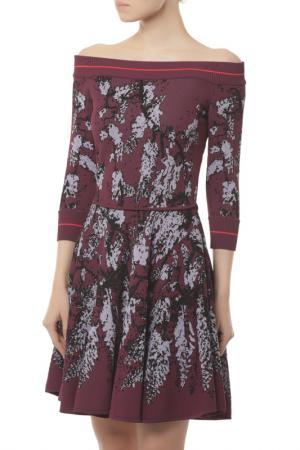 Платье Elie Saab. Цвет: multicolor