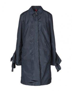Легкое пальто GEOSPIRIT. Цвет: темно-синий