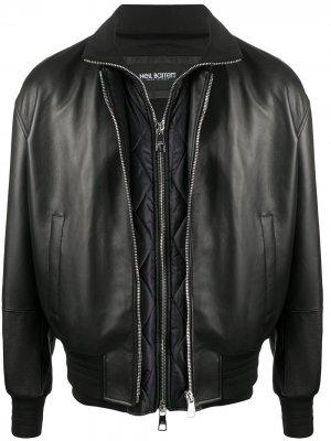 Куртка со съемным жилетом Neil Barrett. Цвет: черный