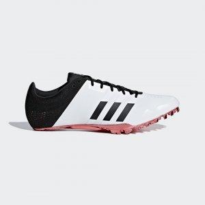 Шиповки для легкой атлетики adizero finesse Performance adidas. Цвет: красный