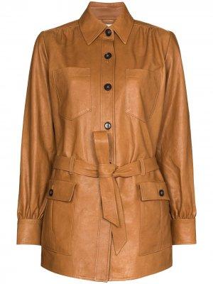 Куртка Safari FRAME. Цвет: коричневый
