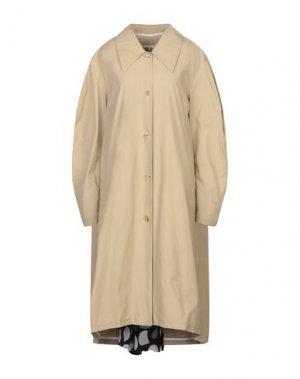 Легкое пальто A.W.A.K.E. MODE. Цвет: песочный