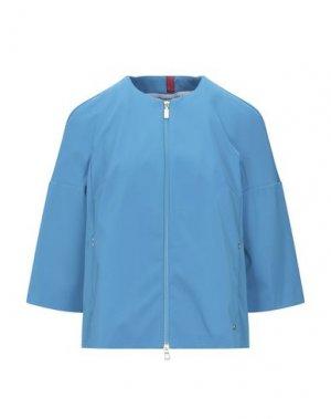 Пиджак GEOSPIRIT. Цвет: бирюзовый