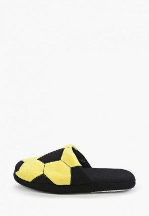 Тапочки PlayToday. Цвет: желтый