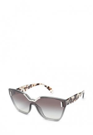 Очки солнцезащитные Prada PR 16TS VIP0A7. Цвет: серый