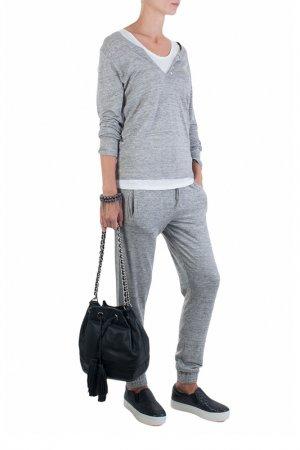Спортивные брюки Allude. Цвет: серый