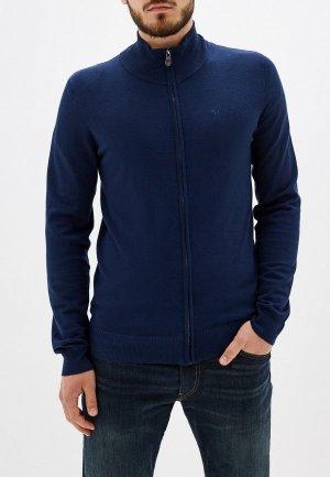 Кардиган Trussardi Jeans. Цвет: синий