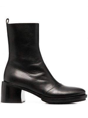Ботинки на массивной подошве Ann Demeulemeester. Цвет: черный