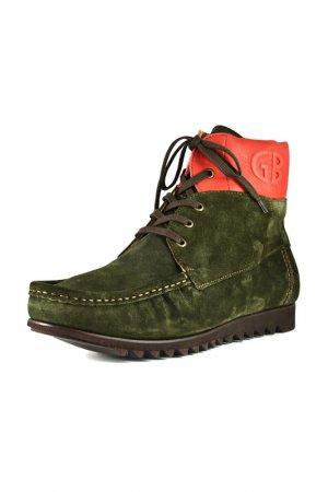 Ботинки Gianfranco Butteri. Цвет: хаки
