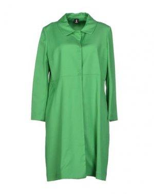 Легкое пальто 1-ONE. Цвет: зеленый