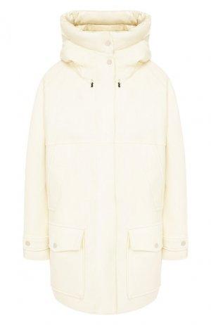 Шерстяная куртка Tundra Woolrich. Цвет: белый