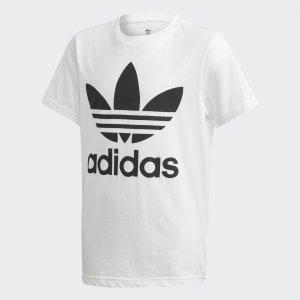 Футболка Trefoil Originals adidas. Цвет: черный