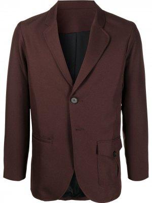 Пиджак на пуговицах Goodfight. Цвет: коричневый