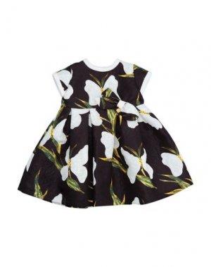 Платье LòLò. Цвет: черный