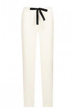 Спортивные брюки FORTE&FRAGILE. Цвет: белый