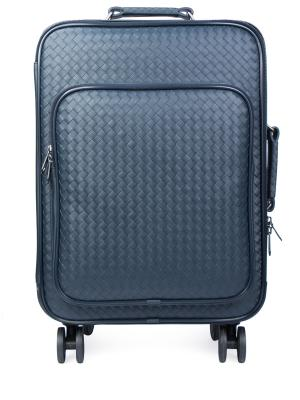 Кожаный чемодан на колесиках BOTTEGA VENETA