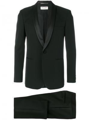 Формальный костюм-двойка Saint Laurent. Цвет: чёрный