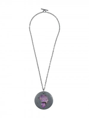 Disk necklace Parts of Four. Цвет: золотистый