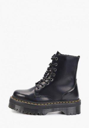 Сапоги Dr. Martens Juney J - Junior High Boot. Цвет: черный