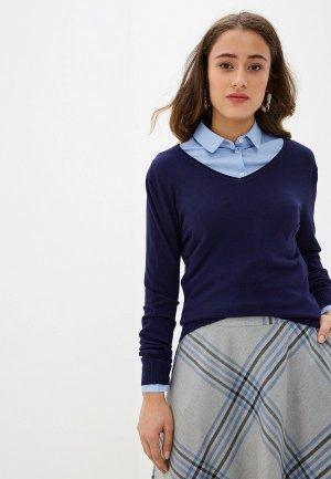 Пуловер Viserdi. Цвет: синий