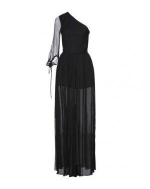 Длинное платье NOLITA. Цвет: черный