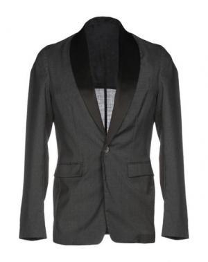 Пиджак THE EDITOR. Цвет: свинцово-серый