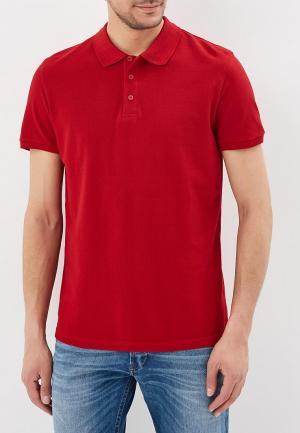 Поло Modis. Цвет: красный