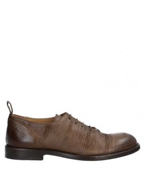 Обувь на шнурках ERNESTO DOLANI. Цвет: зеленый-милитари
