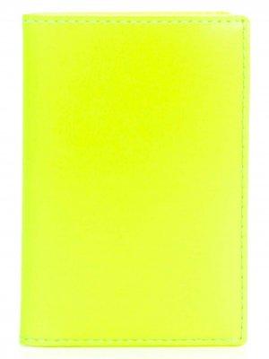 Кошелек в полоску Comme Des Garçons Wallet. Цвет: желтый