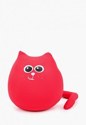 Подушка декоративная Gekoko. Цвет: красный