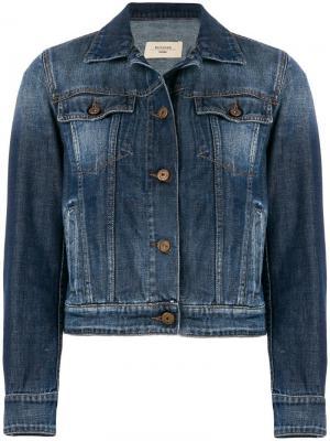 Джинсовая куртка Pancia Weekend Max Mara. Цвет: синий