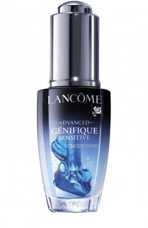 Концентрат двойного действия Advanced Génifique Sensitive Lancome. Цвет: бесцветный