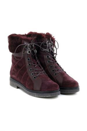 Ботинки Baldan. Цвет: бордо