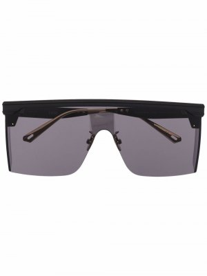 Солнцезащитные очки-авиаторы Dior Club Eyewear. Цвет: черный