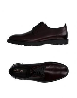 Обувь на шнурках MFW COLLECTION. Цвет: красно-коричневый