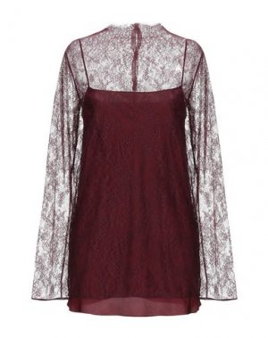 Блузка NINA RICCI. Цвет: баклажанный