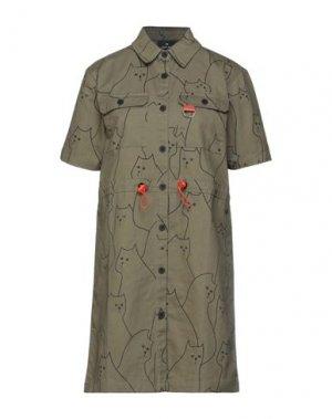Короткое платье LAZY OAF. Цвет: зеленый-милитари
