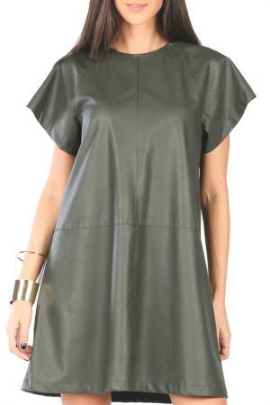 Платье Joins. Цвет: khaki
