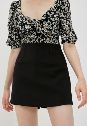 Юбка-шорты Befree Exclusive online. Цвет: черный