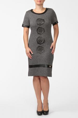 Платье Passion Line. Цвет: черный