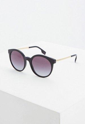 Очки солнцезащитные Burberry BE4296 30018G. Цвет: черный