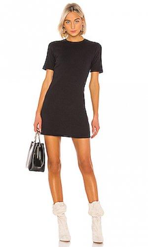 Платье-майка 60s RE/DONE. Цвет: черный