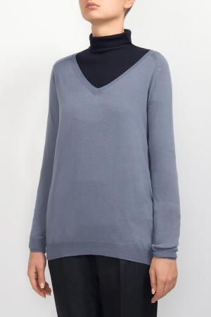 Сиреневый пуловер Les Copains