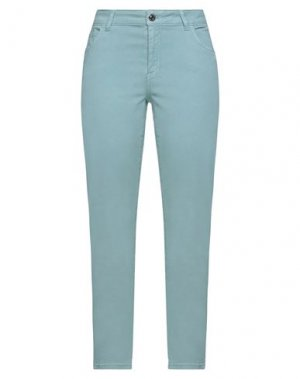 Повседневные брюки CARACTÈRE. Цвет: небесно-голубой