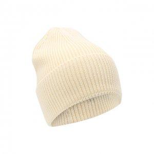 Шерстяная шапка Y-3. Цвет: бежевый