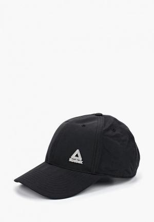 Бейсболка Reebok ACT FND BADGE CAP. Цвет: черный