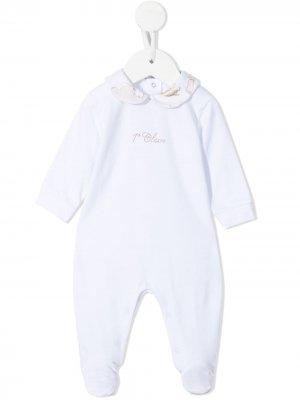 Пижама с заклепками Alviero Martini Kids. Цвет: белый
