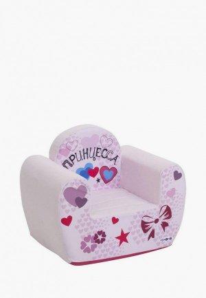 Игрушка мягкая Paremo Игровое кресло серии Инста-малыш, Принцесса. Цвет: разноцветный