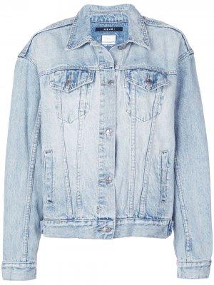 Куртка свободного кроя Ksubi. Цвет: синий